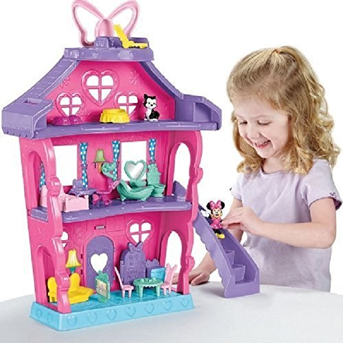 Fisher Price - Minnie - Bdh01 - La Grande Maison De Minnie