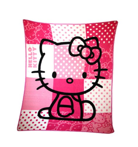 Best Sanrio Hello Kitty Plush Throw Blanket Pink Plush Blanket