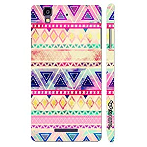 Micromax Yureka Aztec Art 5 designer mobile hard shell case by Enthopia