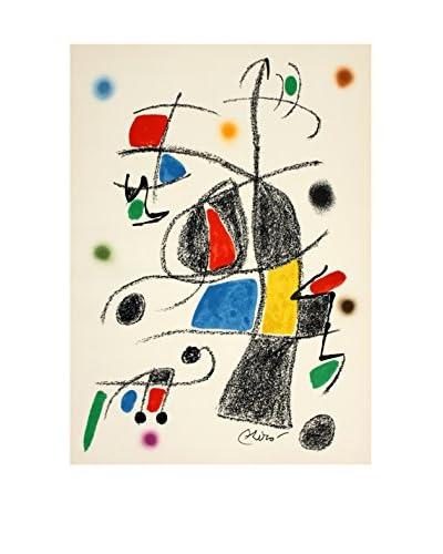 Joan Miro Maravillas #1069 1975 Unframed Poster, Multi