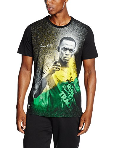 PUMA T-shirt da uomo UB Graphic Tee, Black, m, 838991 01
