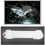 #6: Vheelocityin 10cm Neon Bike Light White - 1pc