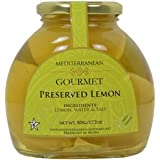 Meditteranean Gourmet Preserved Lemons (All Natural lemons preserved in brine) 17 oz.
