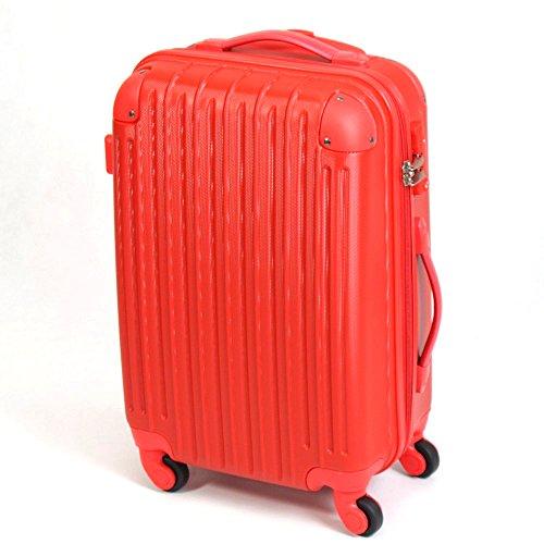 ABS スーツケース  006 【レッド】 S / LYP006-RD-S / ###ケースLYP006-S赤###