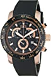 Invicta Men's 11294 Specialty Chronograph Black Textured Dial Black Polyurethane Watch
