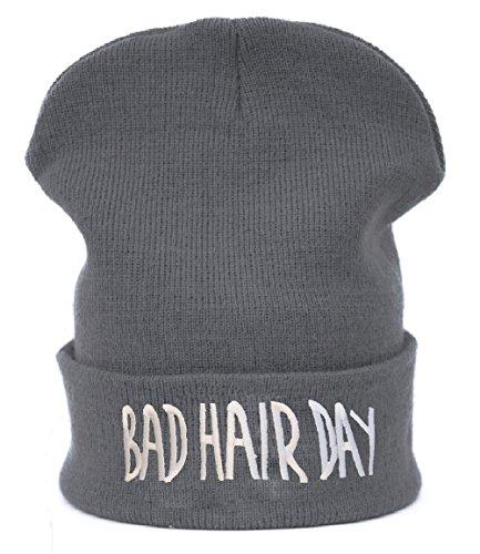 Berretto Primavera Jersey Beanie Beanies cappello invernale Cap Bad Hair Day