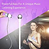 #7: AllExtreme 3.5mm Jack Wired Earphones, Bass Stereo Earbuds Headphones, In-ear Headphones with Built-in Mic, Hands-free Calling, Inline Controls for iOS /Android (White)