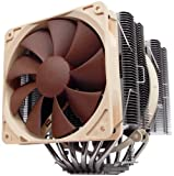 Noctua 6 Dual Heatpipe with 140mm/130mm Dual SSO Bearing Fans CPU Cooler NH-D14 - Retail
