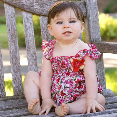 Baby Nay Prima Poppy Smock Romper - Buy Baby Nay Prima Poppy Smock Romper - Purchase Baby Nay Prima Poppy Smock Romper (Baby Nay, Baby Nay Apparel, Baby Nay Toddler Girls Apparel, Apparel, Departments, Kids & Baby, Infants & Toddlers, Girls, Shirts & Body Suits, Body Suits)
