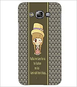 PrintDhaba Quote D-4306 Back Case Cover for SAMSUNG GALAXY A7 (Multi-Coloured)
