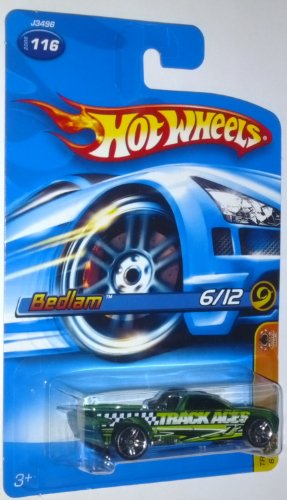 Hot Wheels 2006 Track Aces #6 of 12 Bedlam #116 1:64 Scale Die-Cast Vehicle