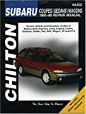 img - for Subaru Coupes, Sedans, and Wagons, 1985-96 (Chilton's Total Car Care Repair Manuals) book / textbook / text book