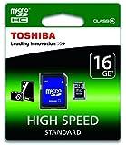Toshiba SD-C16GJ-6A Carte mémoire micro SDHC Classe 4 16 Go