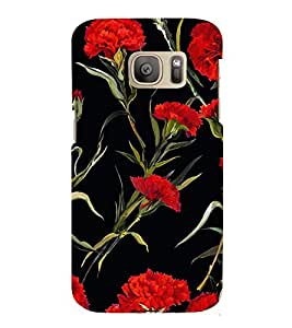 Floral Painting 3D Hard Polycarbonate Designer Back Case Cover for Samsung Galaxy S7 Edge :: Samsung Galaxy S7 Edge Duos G935F