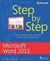Microsoft Word 2013 Step by Step Front Cover