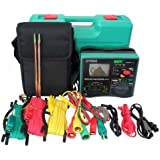 Signstek DY5500 4 in 1 Multimeter - Insulation Tester + Earth Tester + Voltmeter + Phase Indicator