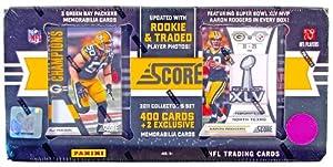 2011 Score Football Factory Set (Box) (Green Bay Packers) (2 Memorabilia Cards Per... by Panini