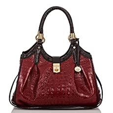 Elisa Hobo Bag<br>Carmine Red Tri-Color