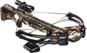 Barnett Penetrator Crossbow Package (Quiver, 3-20-Inch Arrows and 4x32mm Scope) by Barnett Crossbows