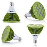12W LED Grow Light Bulb for Indoor Plants, Organic Gardening, Hydroponics, Greenhouse Systems, Growing Lamps & Aquatics-Eco Friendly-Great for Growing Herbs, Fruits, Vegetables, and Houseplants