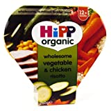 Hipp 1 Year Vegetable & Chicken Risotto Tray 260g