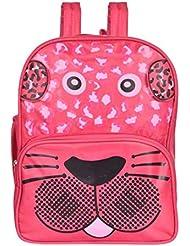 Blue Sky Polyester 8.5 Liters Pink School Backpack