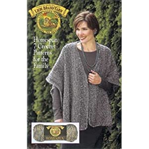 Free Crochet Pattern: Homespun® Family of Mittens - Lion Brand Yarn