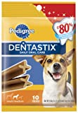Pedigree Dentastix Daily Oral Care Snack Food for Small/Medium Dogs, 5.57-Ounce Bags (Pack of 10)