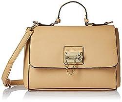 Diana Korr Womens's Handbag (Beige) (DK28HAPR)