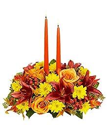 Flowers - Thanksgiving Moments Centerpiece