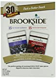 Brookside Chocolates, Dark Chocolate Acai Blueberry and Pomegranate, 0.8 Oz, 30 Count