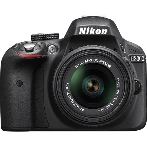 Nikon D3300 24.2 MP CMOS Digital SLR with Auto Focus-S...