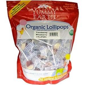 Yummyearth organic lollipops