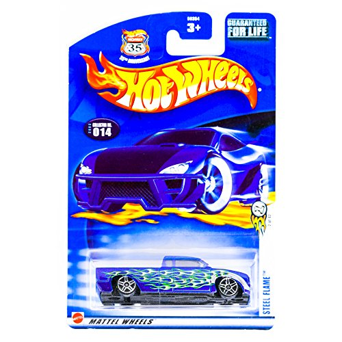 Hotwheels ~ Steel Flame #2 of 42 # 014 35th Annive