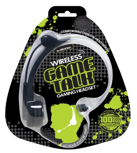 Xbox 360 Game Talk Wireless Headset