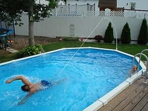 Swim Tether Stationary Swimming Belt for Pools and Swim Spas