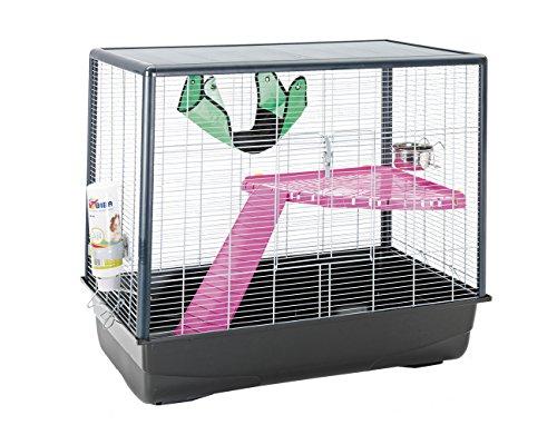savic-cage-pour-petits-animaux-rongeur-zeno-knockdown-chrome-80-x-50-x-70-cm