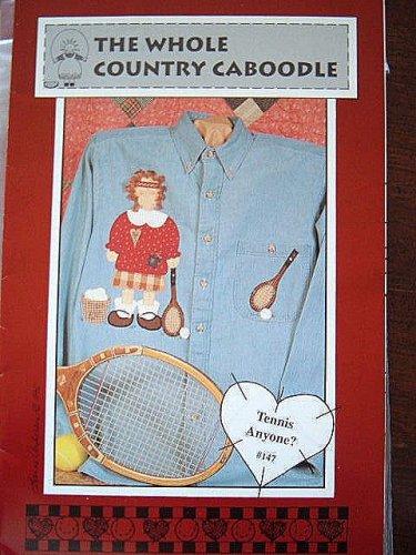 Tennis Anyone? APPLIQUE PATTERN #147