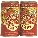 Main St. Cafe Mocha Iced Latte, 11-Ounce Can (Pack of 12)