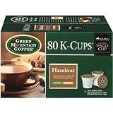 Keurig Green Mountain Coffee Hazelnut K-Cups 80 Ct