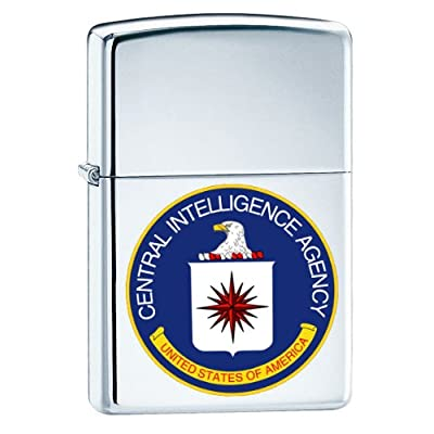Zippo Custom Lighter - CIA Seal Central Intelligence Agency United