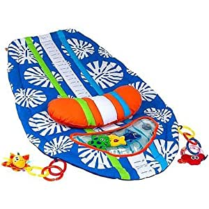 Infantino Surfboard Tummy Time Mat Blue