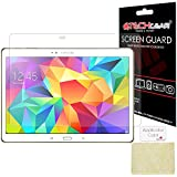 [Pack of 3] TECHGEAR® Samsung Galaxy Tab S 10.5 Inch (SM-T800 / SM-T805) ULTRA CLEAR LCD Screen Protector Gaurd Covers With Screen Cleaning Cloth & Application Card