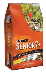 Dog Chow Healthy Morsels - Senior 7+ - Soft & Crunchy Bites - 17.6 lb: Dry Pet Food: Pet