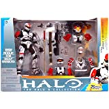 Halo 2009 McFarlane Toys Deluxe Action Figure Boxed Set Rogue Armor Pack WHITE Spartan Soldier Rogue CQB Scout...