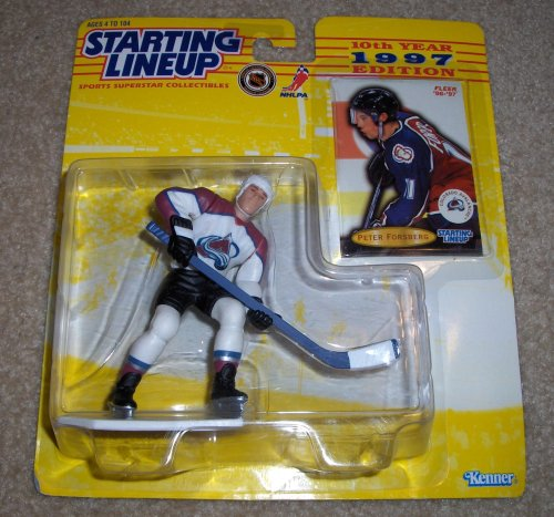 1997 Peter Forsberg Colorado AvalancheStarting Lineup - 1