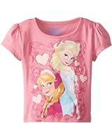 Disney Little Girls'  Frozen Sisters T-Shirt