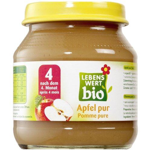 Lebenswert bio Bio Apfel pur 125 gr