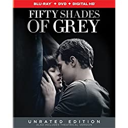 Fifty Shades of Grey (Unrated Edition) [Blu-ray]