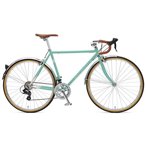 Retrospec Bicycles Kinney 14-Speed Vintage Hybrid Diamond Drop-Bar Frame Bicycle